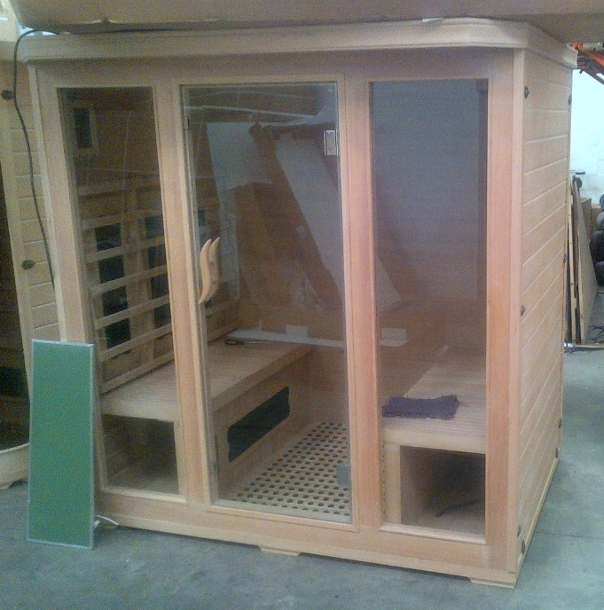 Far Infrared Sauna 4 Person S Series Sauna Tech