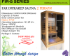 Far Infrared Sauna 2 Person G-series