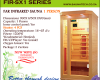 Far infrared Sauna - 1 Person S-series