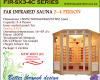 Far Infrared Sauna 3-4 Person Corner S-series