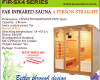 Far infrared Sauna - 4 Person S-series