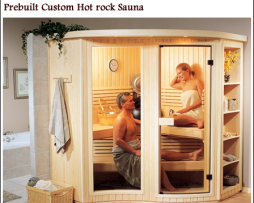 Custom Traditional Saunas cs5 - 5 Person sauna