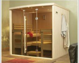 Custom Traditional Saunas cs1 - 6 Person sauna