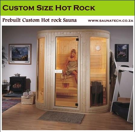 Custom Traditional Saunas cs4 - 6 Person sauna
