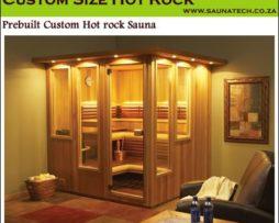 Custom Traditional Saunas cs2 - 6 Person sauna