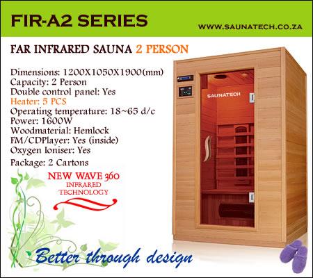 Far Infrared Sauna 2 Person A-series