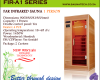 Far Infrared Sauna 1 Person A-series