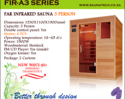 Far Infrared Sauna 3 Person A-series