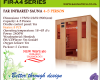 Far Infrared Sauna 4 Person A-series