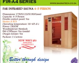 Far Infrared Sauna 4 Person A-series