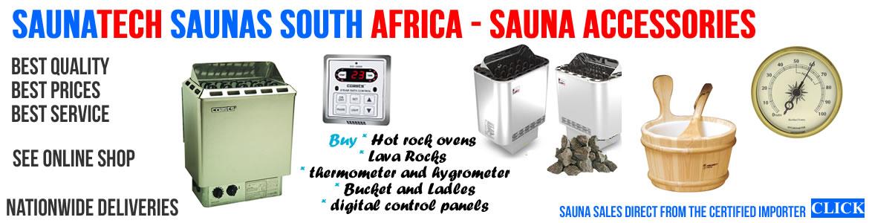 Sauna Accessories Cape Town Johannesburg and Durban - 021 556 7203